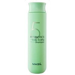 Шампунь для глубокого очищения кожи головы 5 Probiotics Scalp Scaling Shampoo Masil
