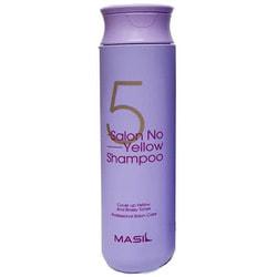 Тонирующий шампунь для осветленных волос 5 Salon No Yellow Shampoo Masil