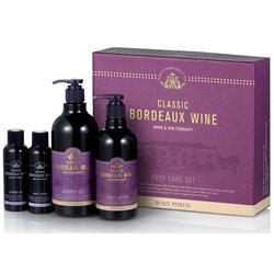 Набор уходовый для тела Body Phren Classic Bordeaux Wine Body Care Set Welcos