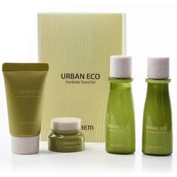 Дорожный уходовый набор Urban Eco Harakeke Travel 4 Kit The Saem
