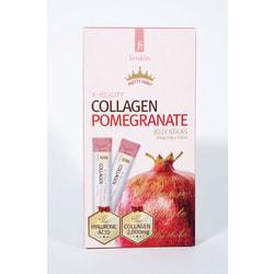 Коллаген в желе с гранатом в стиках Jinskin K-Beauty Collagen Pomegranate
