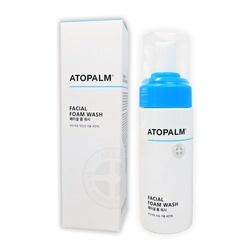 Очищающая пенка для умывания Atopalm
