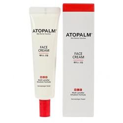Крем для сухой и чувствительной кожи лица Atopalm