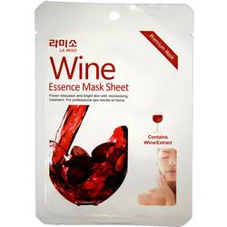 Антивозрастная тканевая маска для лица с экстрактом красного вина La Miso (Корея)