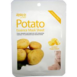 Тканевая маска для лица с экстрактом картофеля La Miso