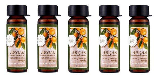 Набор ампул для волос с аргановым маслом Confume Argan