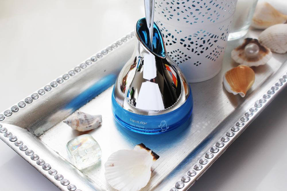 увлажняющий крем с экстрактом морского конька farmstay